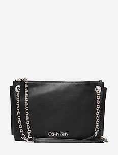 CHAINED CONV SHOULDERBAG - BLACK