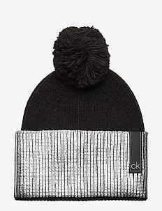 LAMINA BEANIE - kapelusze - black