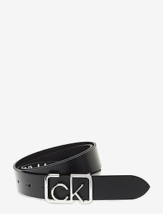CK SIGNATURE BELT 3.0 - BLACK