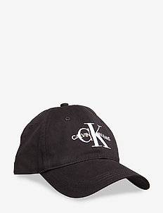 J MONOGRAM CAP WITH EMBROIDERY - BLACK BEAUTY