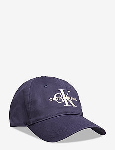 J MONOGRAM CAP WITH EMBROIDERY - lakit - navy