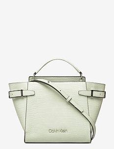 WINGED TOP HANDLE TO - handbags - petal green