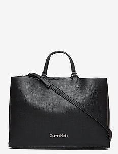 SIDED TOTE LG - BLACK