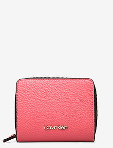 SIDED ZIPAROUND MD W FLAP - lompakot - coral