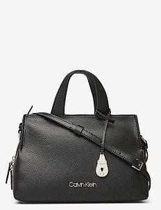 NEAT TOTE MD - handbags - black