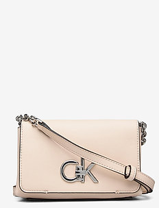 FLAP CROSSBODY SM - torby na ramię - light sand