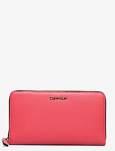 NEAT ZIPAROUND WALLE - wallets - coral