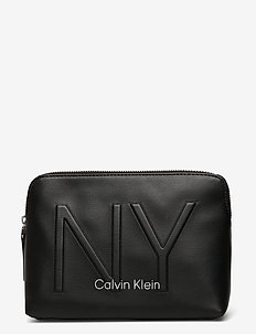 NY SHAPED WASHBAG - kosmetiktasche - black