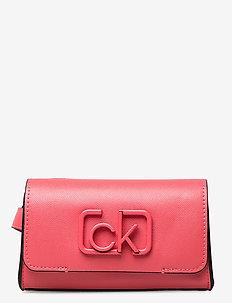 CK SIGNATURE BELT BA - belt bags - coral