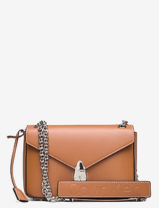 LOCK CONV CROSSBODY - CUOIO