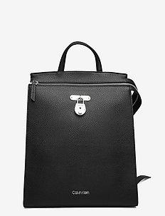 DRESSED BUSINESS BACKPACK - rucksäcke - black