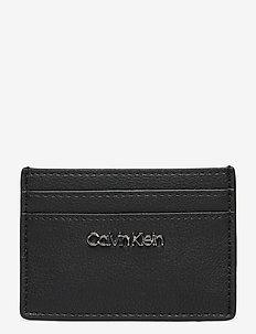 CK MUST CARDHOLDER - card holders - black
