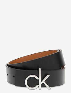 CK LOW REV GIFTPACK - riemen - black/cuoio