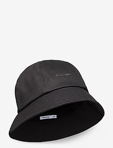 METAL SAFARI HAT - bucket hats - black