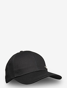 METAL LETTER BB CAP - caps - black