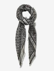 CK MONO J SCARF 130x130 - scarves - navy mix