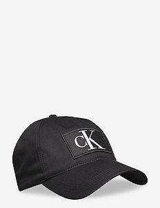 CKJ ESSENTIALS CAP W - czapki - black