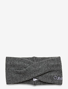 TWISTED HEADBAND - hårbånd - mid grey heather