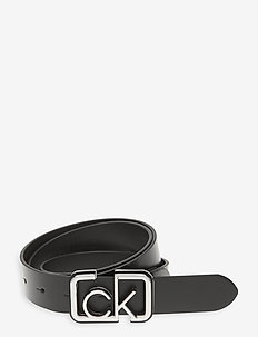 ADJ FIXED BUCKLE BELT 30MM - riemen - black