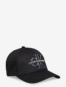 GLOW CAP - kasketter - black