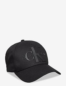 MONOGRAM CAP TPU - lakit - black