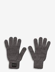 GLOVES - gants - mid grey heather