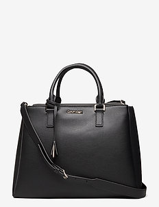 TOTE MD - handväskor - ck black