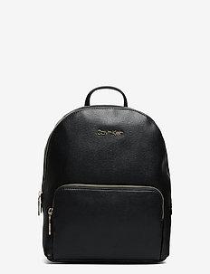CK MUST CAMPUS BP W/PCKT MD - ryggsäckar - ck black
