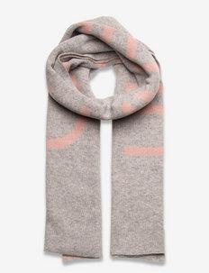 ECO KNIT SCARF - vinterskjerf - mid grey heather