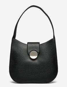 CK LUXE HOBO - handväskor - ck black