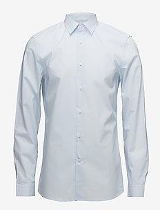 WALKER BASIC STRETCH - basic overhemden - soft blue