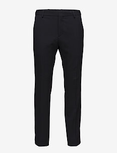 STRETCH TWILL STRIPE - casual trousers - 413-sky captain