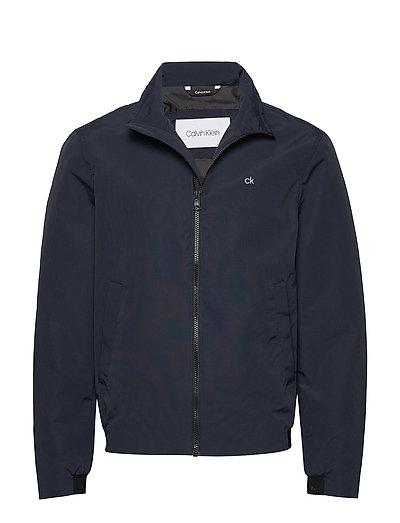 Casual Nylon Blouson Jacket Dünne Jacke Blau CALVIN KLEIN | CALVIN KLEIN SALE