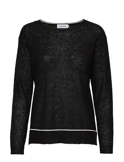 Ls Alpaca Blend Sweater Strickpullover Schwarz CALVIN KLEIN | CALVIN KLEIN SALE