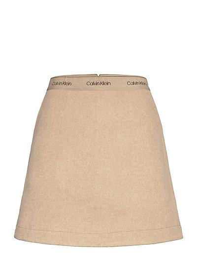 Double Face Skirt Kurzes Kleid Pink CALVIN KLEIN | CALVIN KLEIN SALE