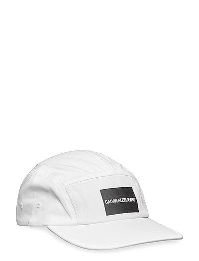 J PRINTED LOGO CAP M - BRIGHT WHITE