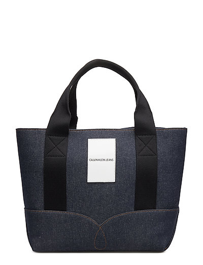 DENIM OMEGA TOTE 30 - BLUE DENIM