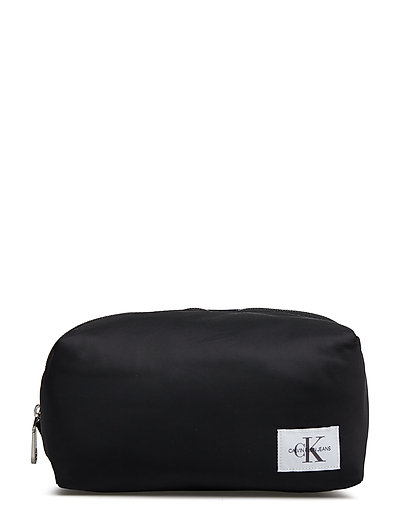 PILOT TWILL WASHBAG - BLACK