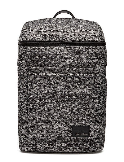 ILAY JACQUARD BACKPA - BLACK/DUSTY IVORY