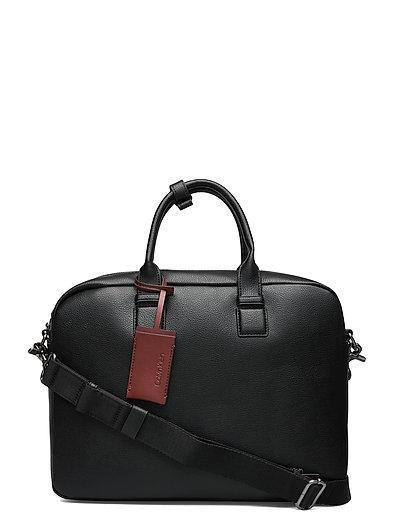Ck Bombe' Laptop Bag Laptop-Tasche Tasche Schwarz CALVIN KLEIN
