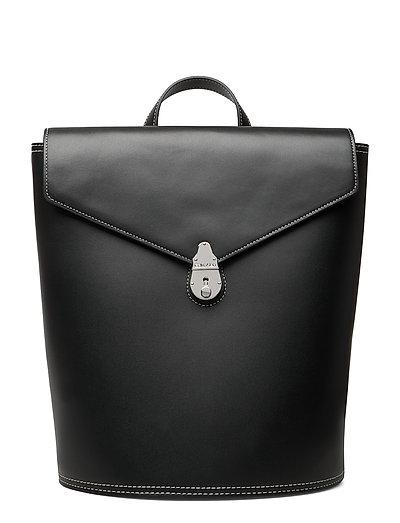Lock Backpack Rucksack Tasche Schwarz CALVIN KLEIN