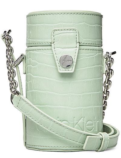 Drum Cylinder Crossb Bags Small Shoulder Bags - Crossbody Bags Grün CALVIN KLEIN | CALVIN KLEIN SALE