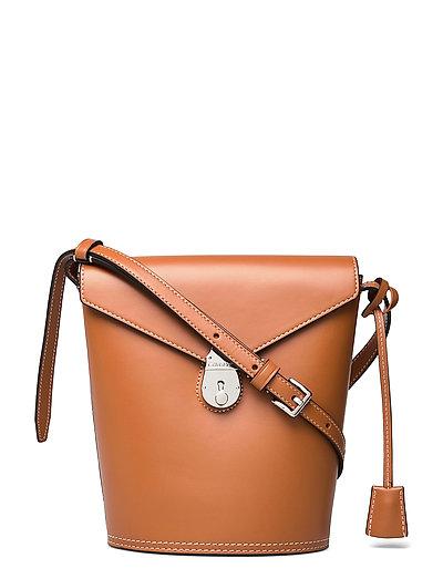 Lock Bucket Sm Bags Small Shoulder Bags - Crossbody Bags Braun CALVIN KLEIN | CALVIN KLEIN SALE