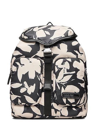 Primary Backpack Lg Bags Backpacks Casual Backpacks Schwarz CALVIN KLEIN