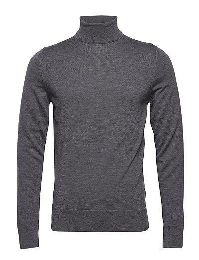 Superior Wool Turtle Neck Knitwear Turtlenecks Grau CALVIN KLEIN