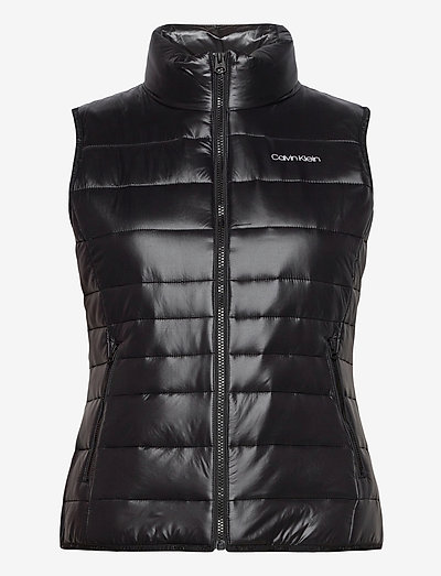 LT PACKABLE DOWN VEST - puffer vests - ck black