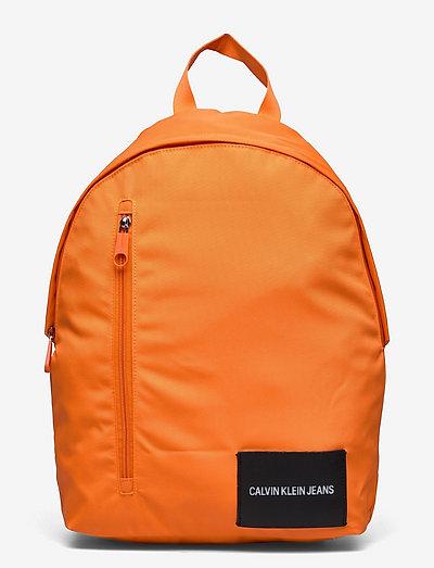 ROUND BP 43W/FRONT ZIP - tassen - vivid orange