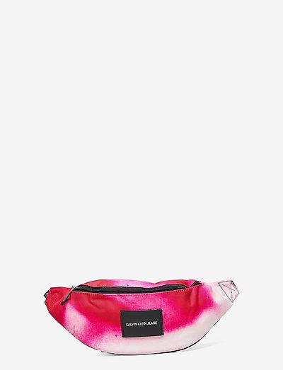 WAISTBAG MARBLE - belt bags - cerise marble