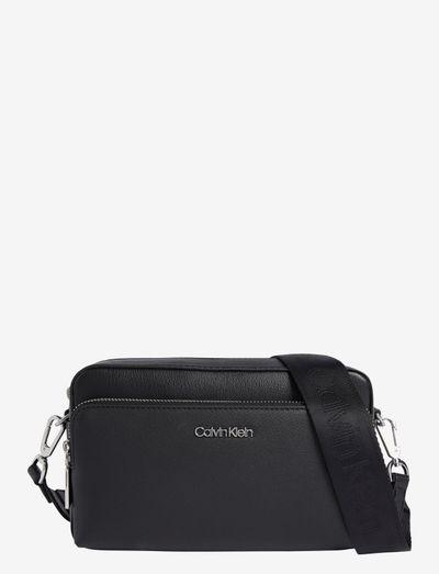 CK MUST CAMERA BAG W/PCKT LG - crossbody bags - ck black