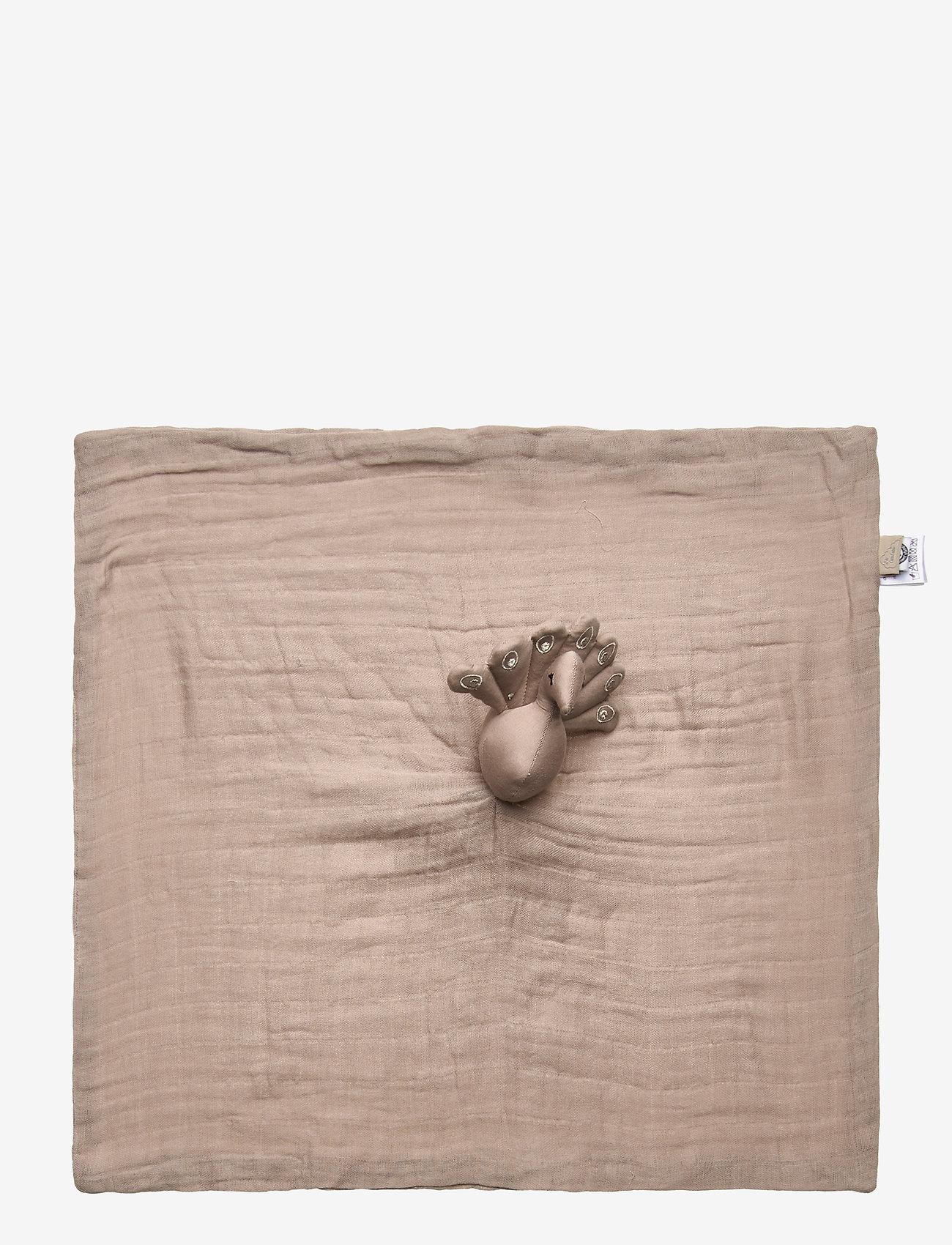 Cam Cam Copenhagen - Peacock Cuddle Cloth - koce i kołdry - hazel - 1